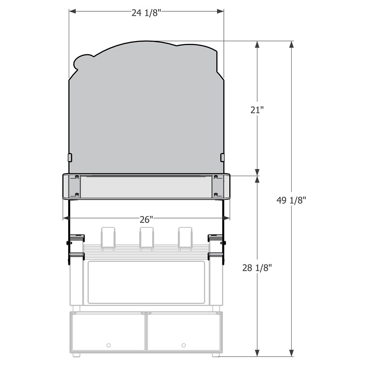 Canopy Sneeze Guard Merchandiser Package Small Apw Grill Tyson Foods Wyott Wiring Diagrams Alternate 6