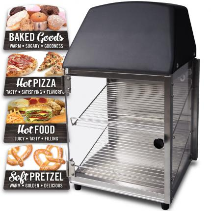 """Hinterland Dark"" 737 Compact Food Warming Merchandiser"