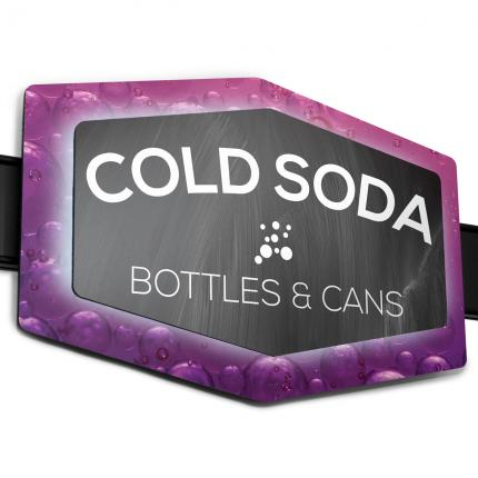 """Crafted Soft Drinks"" ImageTrak™ Coin Signs"