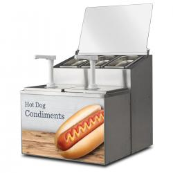 FoodPros Condiment Station with Decal