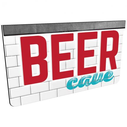 """Gourmet Cafe"" Beer Cave Sign"