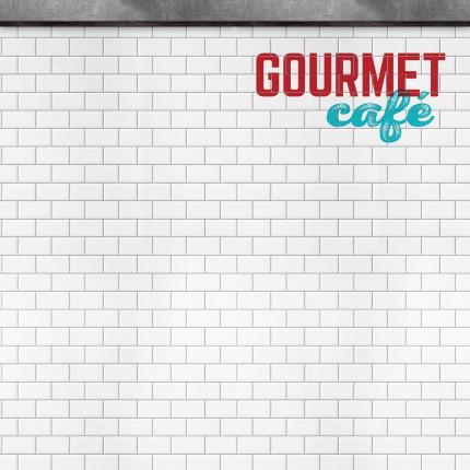 """Gourmet Cafe"" Wall Paneling"