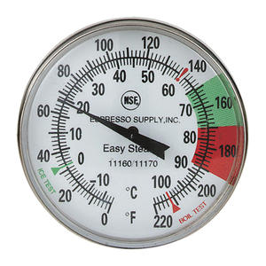 Thermometer Easy Steam 5""