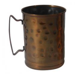 14 oz Hammered Copper Moscow Mule Cup - Case of 12