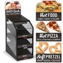 """Hinterland Dark"" Grab 'n Go 6655 Food Merchandiser"