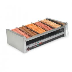 Nemco Slanted Hot Dog Digital Roller Grills
