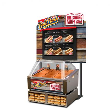 Standard Merchandiser Package - Small APW Grill