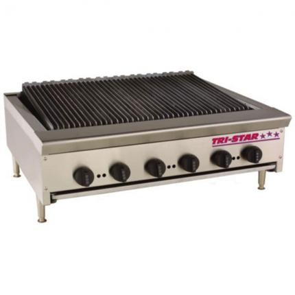 TRI-STAR Heavy Duty Countertop Radiant Char Broiler