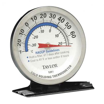 Taylor Commercial Cold Holding Thermometers (Set of 2)