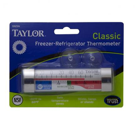 Taylor Freezer-Refrigerator Thermometer 5925N