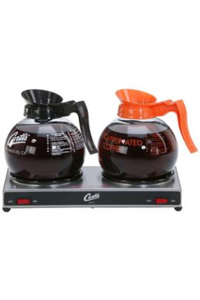 Wilbur Curtis 2 Station Low Profile Alpha Decanter