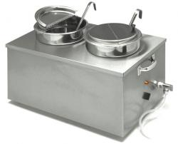 APW Wyott 22qt. Insulated Soup Cooker/Warmer with Drain