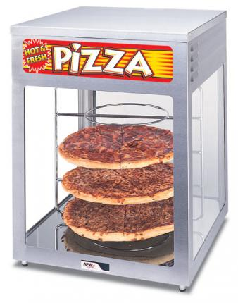 APW Wyott Heated Pizza Display Cabinets