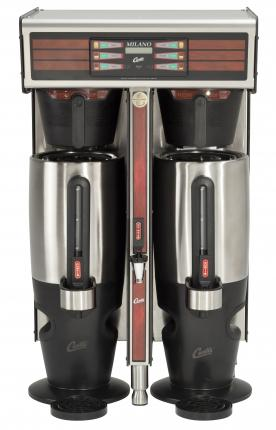 Wilbur Curtis Twin Milano Digital Brewing System with Dispenser