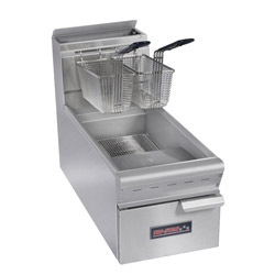TRI-STAR 15lb Capacity Countertop Gas Fryer
