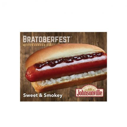 "POS - Johnsonville ""Bratoberfest"" Sweet & Smokey Cling"