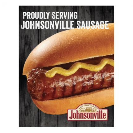 "POS - ""Proudly Serving Johnsonville Sausage"" Generic Ultimate Poster"