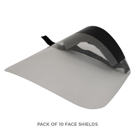 Protective Face Shields (10 Pack)