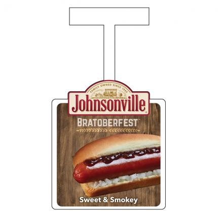 "POS - Johnsonville ""Bratoberfest"" Sweet & Smokey Wobbler"