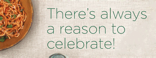 There's always a reason to celebrate!